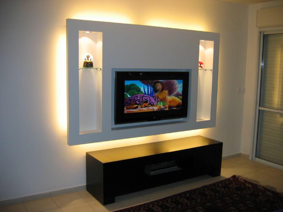 Tv wand selber bauen rigips  www.trocken-bauen.de